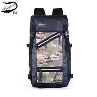 FengDong Brand Multifunctional Waterproof Camouflage Backpack Male Big Bag Backpacks For Men Boys Large Travel Backpack