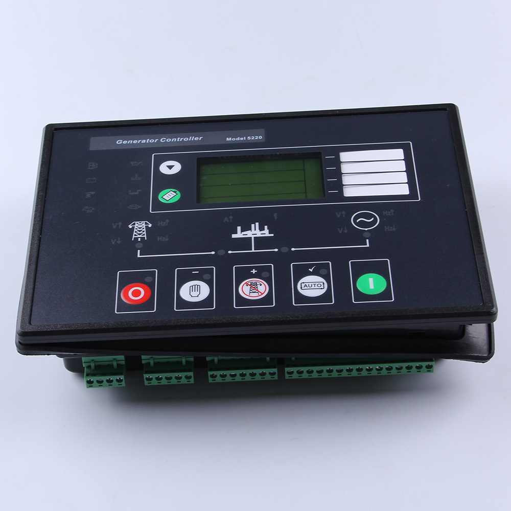 5220 universal remote diesel AC Generator controller AMF lcd board pannel Automat start and stop unit electronic genset parts electronics controller controls module amf unit dse704