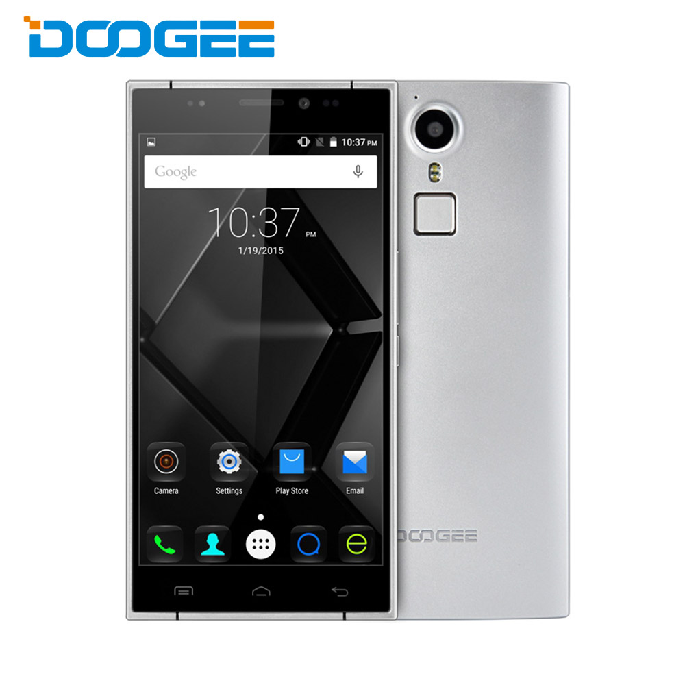 bilder für Auf lager doogee f5 android 5.1 4g phablet 5,5 zoll fhd bildschirm MTK6753 64bit 1,3 GHz Octa-core 3 GB RAM 16 GB ROM 13MP kamera