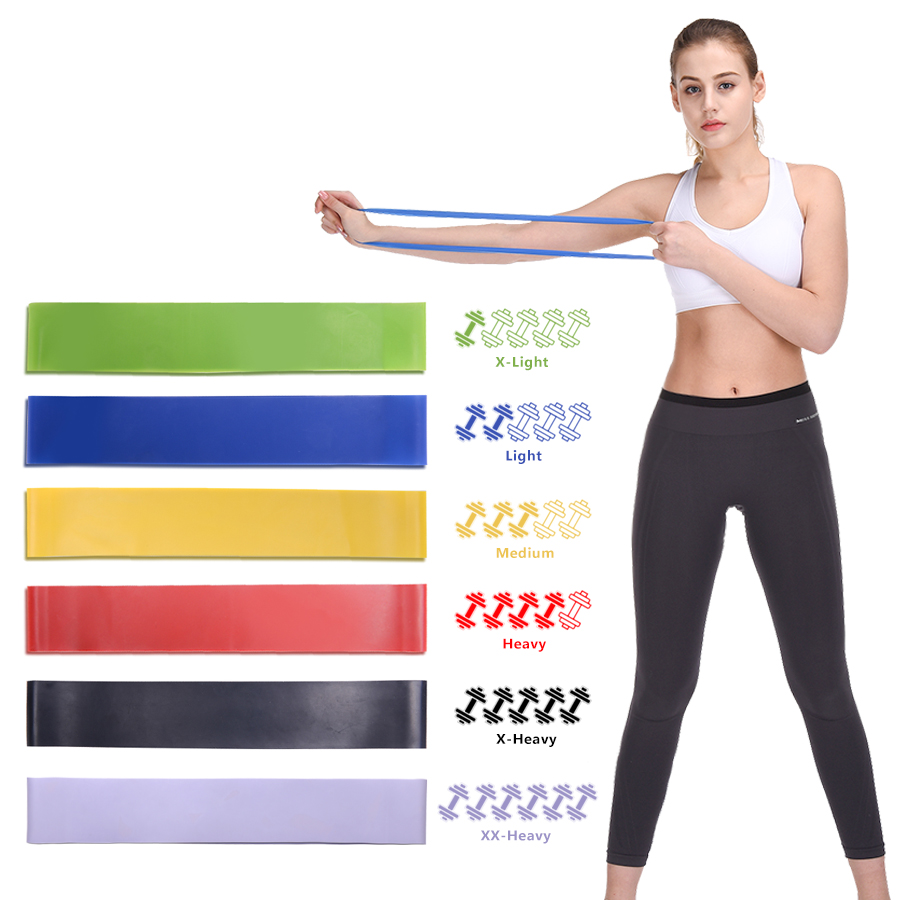 Sports & Entertainment Efficient Resistance Bands Rubber Band Gum Workout Fitness Gym Equipment Loops Latex Yoga Strength Training Athletic Rubber Bands Expander Comfortable And Easy To Wear