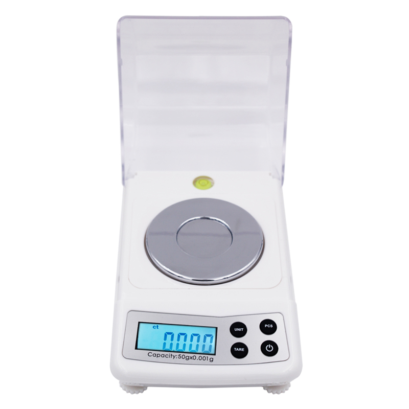 High Precision 50g 0.001g Electronic Digital Scale Jewellery Balance Gram Scales 12%