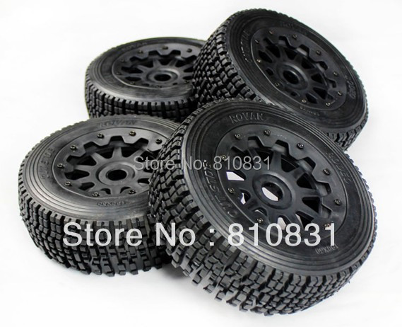 Freeshipping The new generation road tires kit for baja 5T/SC