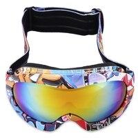 Winter Sports Skiing Eyewear Snow Snowboard Ski Goggles Anti Fog UV400 Windproof Dustproof Glasses Skate Ski