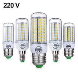 E27 светодиодный светильник E14 светодиодный лампы SMD5730 220 V Кукуруза лампы 24 36 48 56 69 72 светодиодная люстра светодиодный светильник для