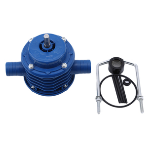 Image 2 - Blue Self Priming Dc Pumping Self Priming Centrifugal Pump Household Small Pumping Hand Electric Drill Water Pump