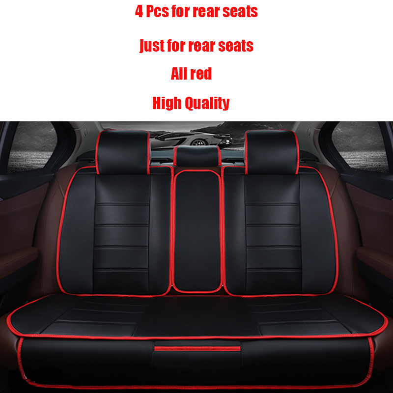 4 Pcs Leather Car <font><b>Seat</b></font> Cover For Honda <font><b>CRV</b></font> XRV Odyssey Jazz City crosstour S1 CRIDER VEZEL accessories styling auto covers