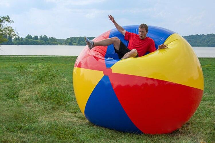 Ballon de plage gonflable en PVC 2.0 m ballon de jeux en plein airBallon de plage gonflable en PVC 2.0 m ballon de jeux en plein air