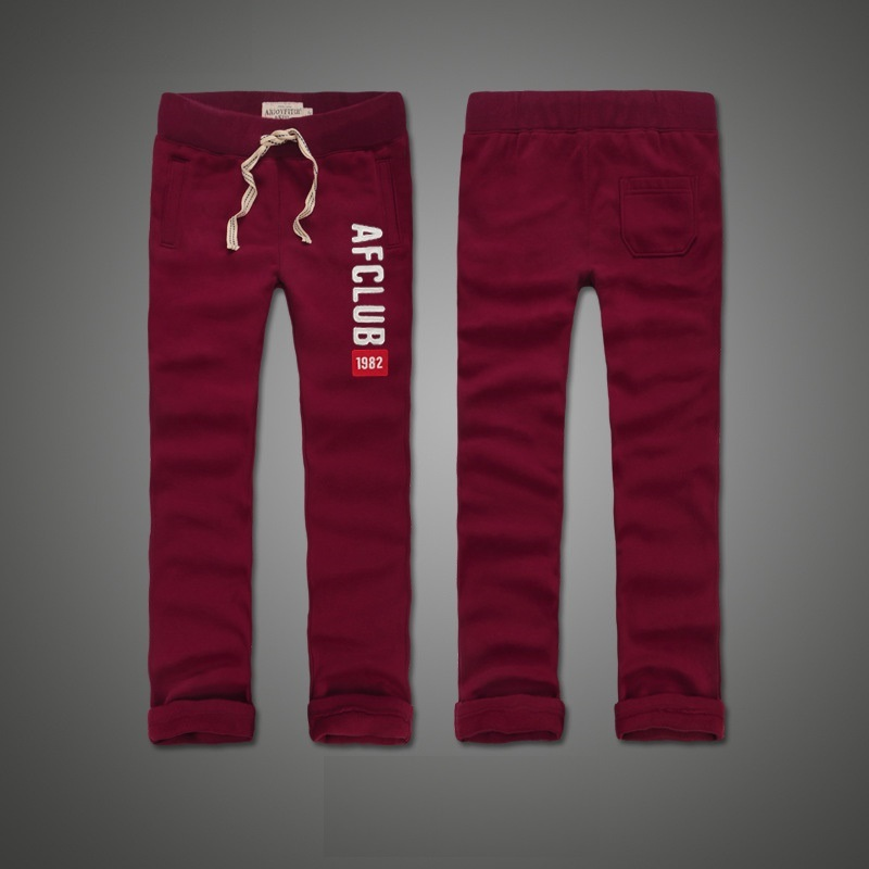 2019 Winter Pants Men Joggers Keep Warm Thick Fleece Trousers Soft Full Length Embroidery
