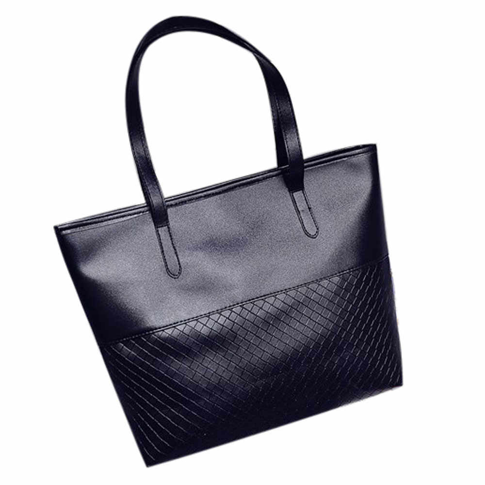 5d588ef31f6 #50 Office Lady Newly Fashion Style Casual Solid Women Handbag Shoulder Tote  Satchel Large Messenger