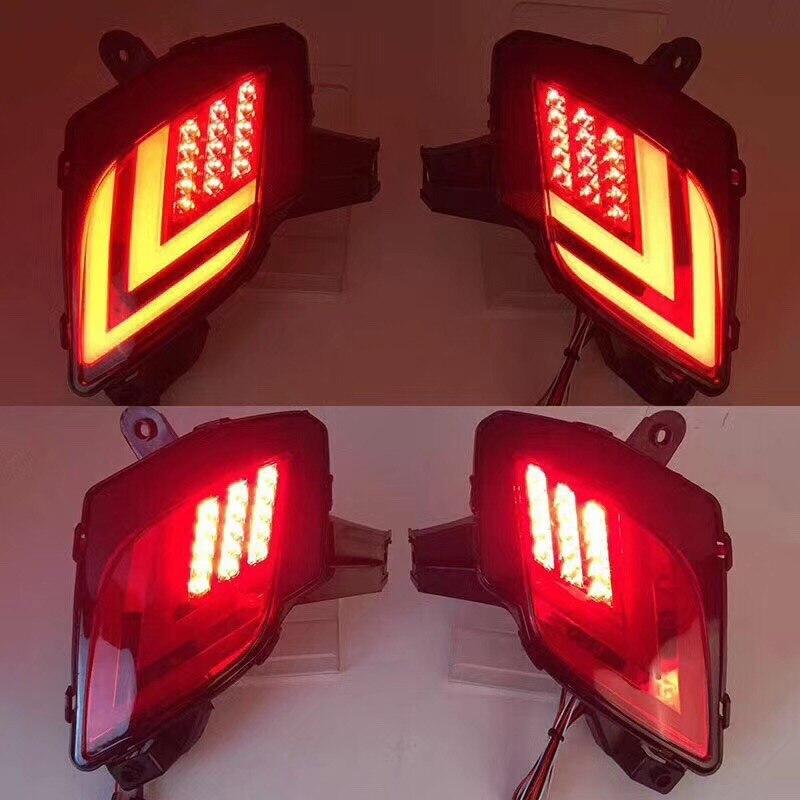 Osmrk светодиодные задние бампера света, стоп-сигнала, дальнего света, ночная лампа для Мазда CX-5 2012-16