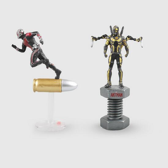 2style 6.5cm Ant-Man Comics Antman Yellow Jacket Model Toys Movie PVC Action Figure Toy Collection Model Doll With Box 314 king arts ffs003 bullet ant man doll static model miniature doll model doll collection