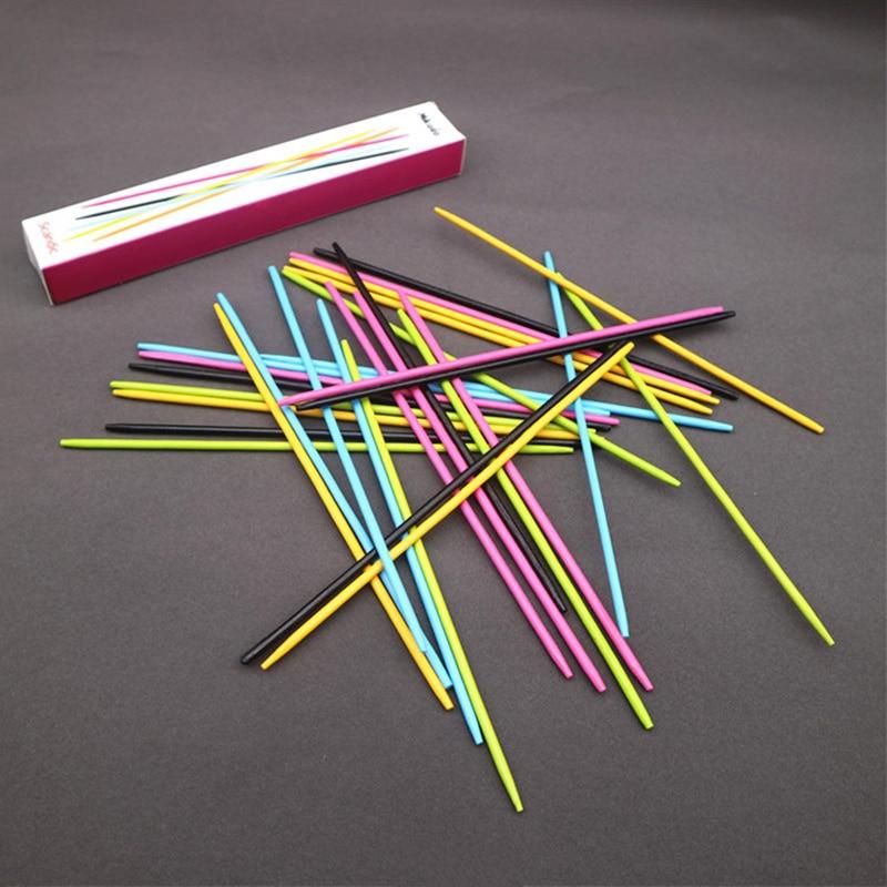 Color Bar Balance Beam Sticks Balancing Blocks Children Wooden Toys Interactive Game Gift ...