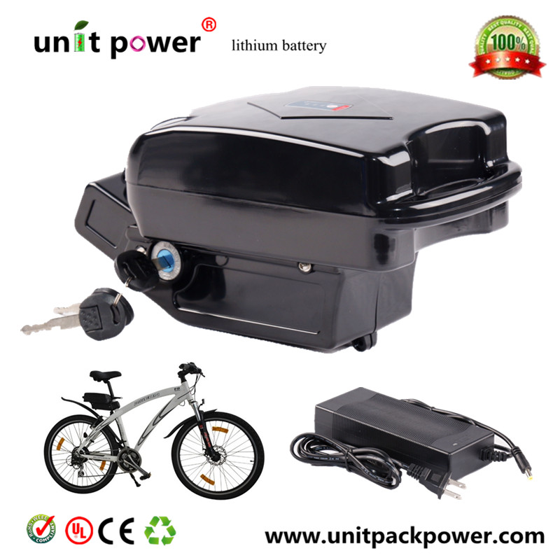 Top quality 48v 750w electric bike 48v 12ah lithium battery with BMS and charger 48 volt li ion battery pack electric bike battery with 54 6v 2a charger and 25a bms for 48v 15ah lithium battery