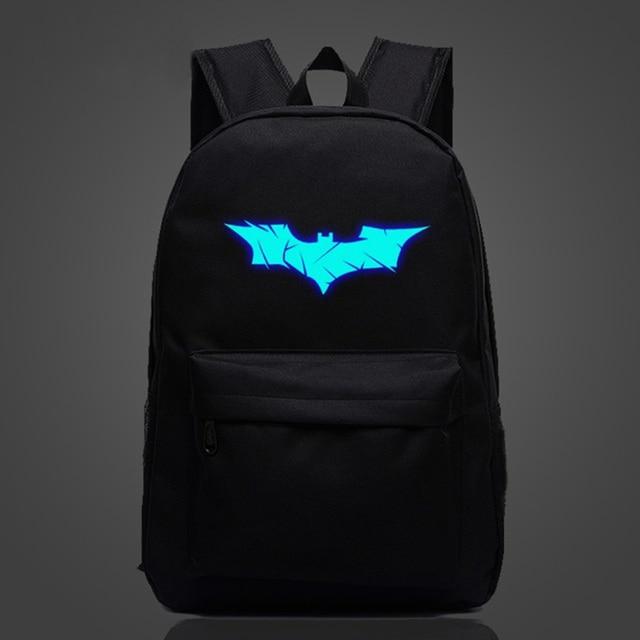 13f1ed3072a5 VENIWAY Batman Backpack Super Hero Spiderman Bags For Boys Girls School  Backpacks Kids Best Gift School Bag Children Backpack