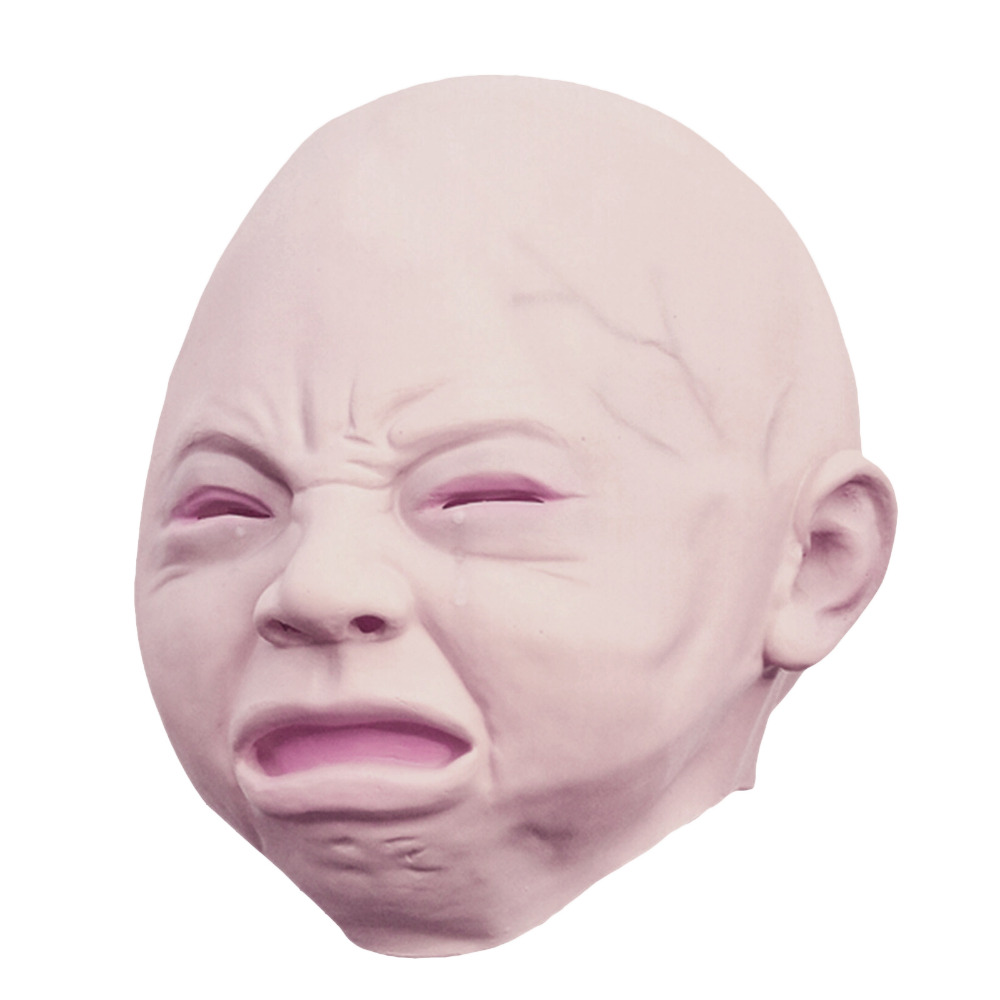 Aliexpress.com : Buy New Latex crying weeping old baby full face ...