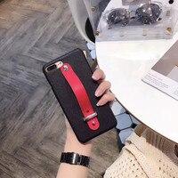 하드 플라스틱 섹시한 레드 벨트 비즈니스 3D 휴대 전화 주택 iPhone6 6 초 6 플러스 실리콘 보호 쉘 Coque