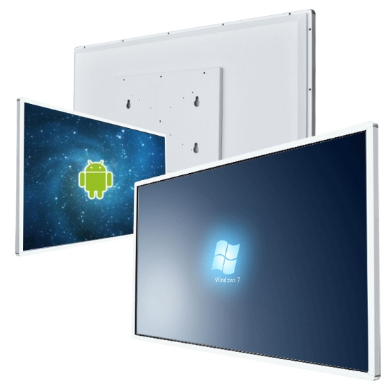 Windows I3 Or Android 8 Core RAM 2G ROM 8G 32 Inch All In One Pc HD 1080p LCD RF Touch Interactive Digital Panel DIY Computer PC
