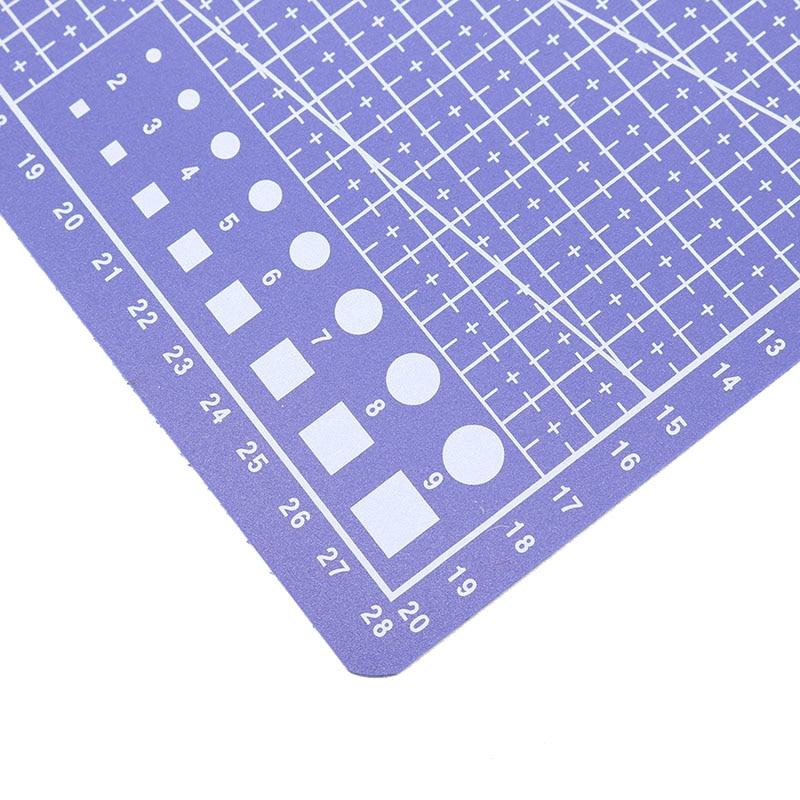 PVC Cutting Mat A4 Durable Self-Healing Cut Pad Patchwork Tools Handmade BH
