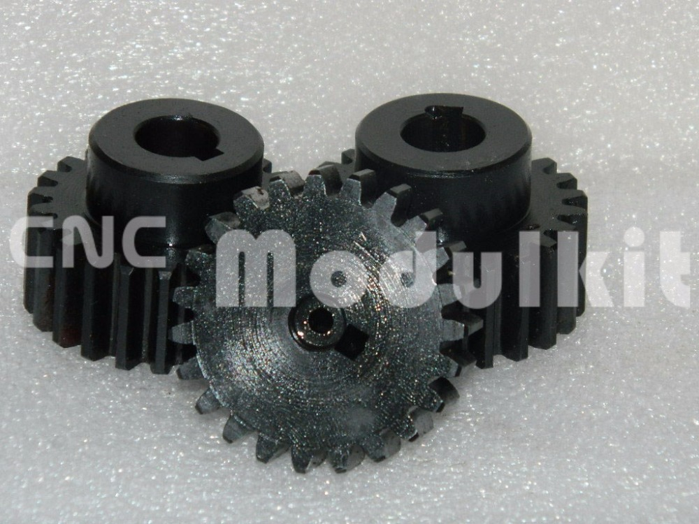 Customer Made Dia ?mm Gear Pinion 36 Teeth Right Teeth Mod 3 - 30mm Rack 45# Steel From CNC Modulkit