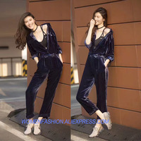 amazing bodysuit women,elegant body mujer high quality macacao feminino ladies rompers womens jumpsuit velvet overalls playsuit