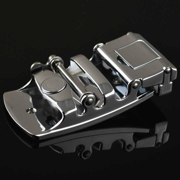 جديد الرجال الأعمال سبيكة التلقائي مشبك فريد الرجال البلاك حزام أبازيم ل 3.5 سنتيمتر اسئلة الرجال اكسسوارات ملابس LY125-0602