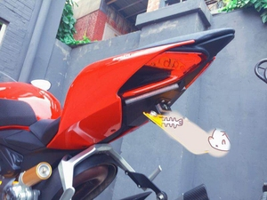 Image 5 - For DUCATI 899 959 1199 1299 Panigale Motorcycle Rear Tail Light Brake Turn Signals Integrated LED Lights License Bracket