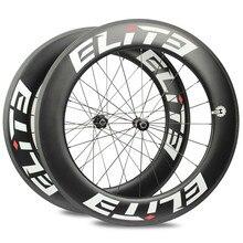 Elite AFF DT 350 S углеродное колесо для дорожного байка 25 мм или 27 мм ширина трубчатая бескамерная клинчерная покрышка 700c углеродное волокно велосипед колесная