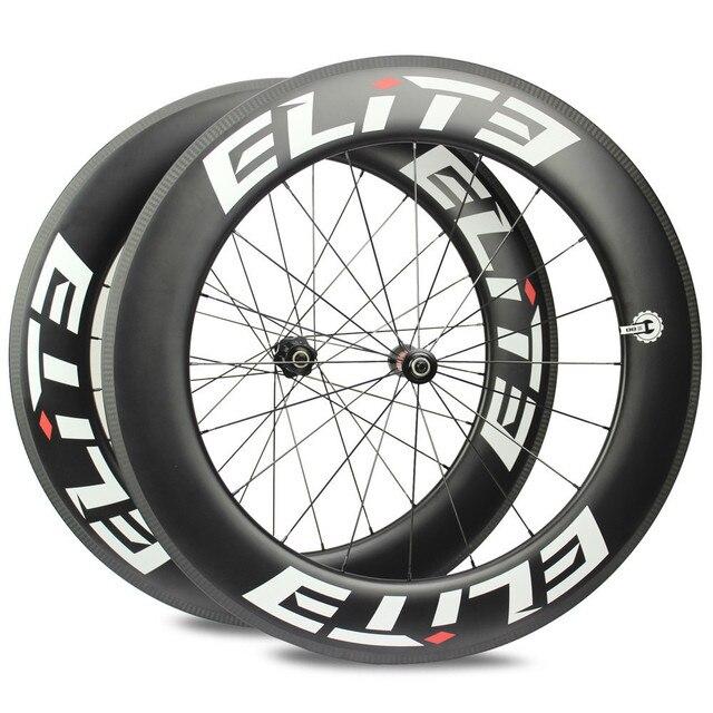 Elite AFF DT 350S Carbon Road Bike Wheel 25mm Or 27mm Width Tubular Clincher Tubeless 700c Carbon Fiber Bicycle Wheelset