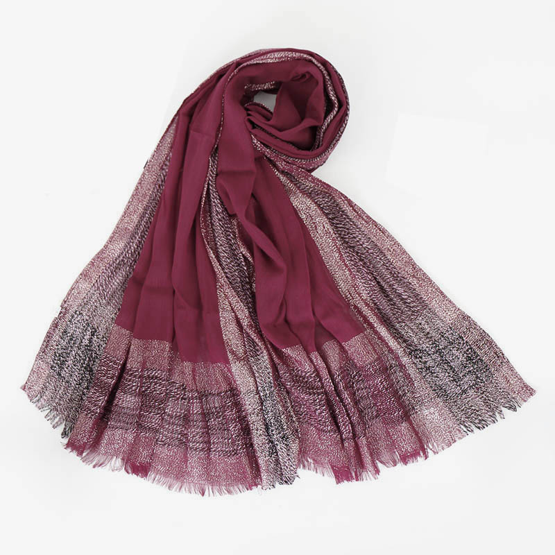 Ladies//Womens luxury Warm Winter Scarf in 4 Colours with Lurex Sparkle