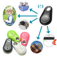 Pets Smart Mini GPS Dog Tracker Anti-Lost Alarm Waterproof Bluetooth Tracer Pet Dog Cat Wallet Key Kid Pocket Tracker Equipment