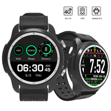 RUIJIE MTK6737 Quad Core Android 6.0 4G Smart Watch 1GB/16GB  Heart Rate Monitor SmartWatch Phone Support Sim Card WIFI GPS цена