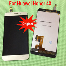 Original New Best Working LCD Display Touch Screen Digitizer Assembly Sensor For Huawei Honor 4X Che2-L11 CHE2-UL00 Che1-CL20