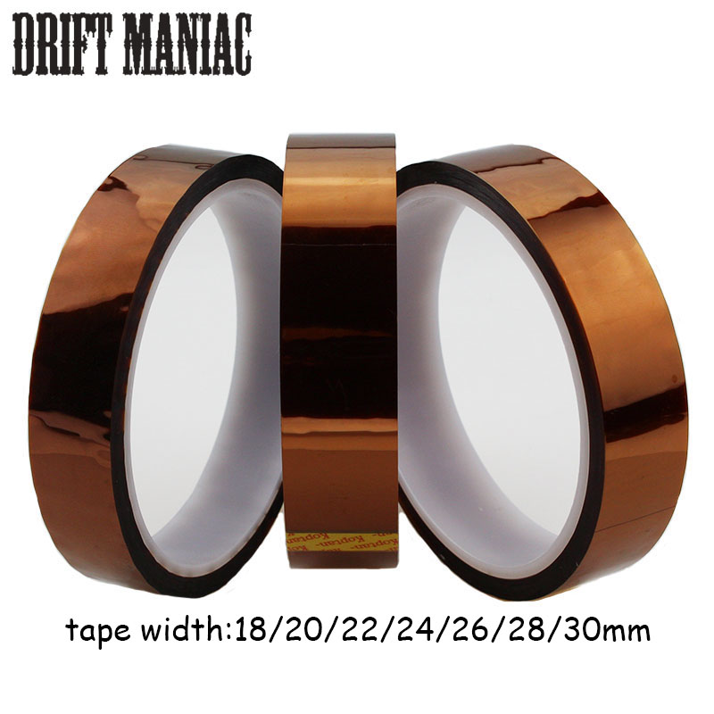 Bicycle Tubeless Rim Tape Width 18 20 22 24 26 28 30mm Length 30m For Mountain