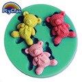 DIY плазмин медведь кондитерский силиконовые формы для украшения торта пищевого силикона mini Фондант полимерная глина формы F0451XM35 - фото