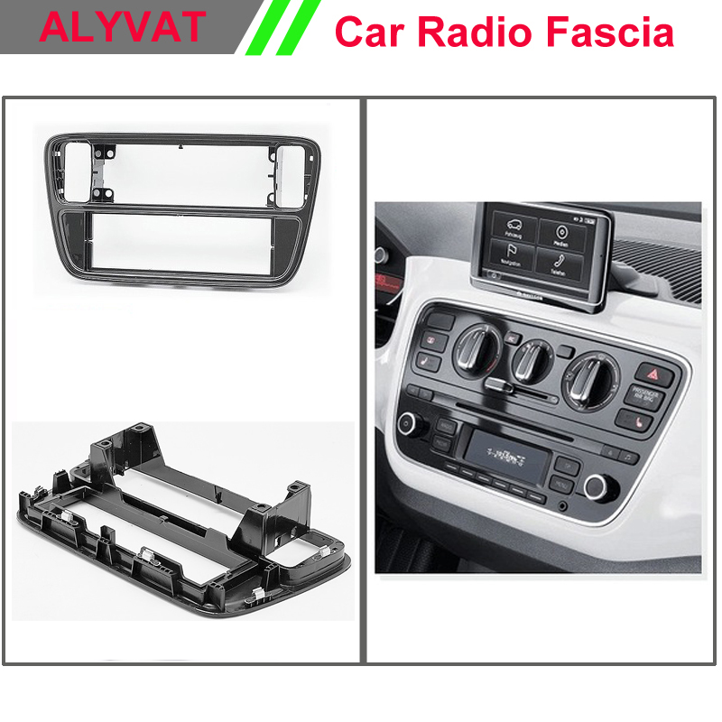 Car Radio Dash CD Panel for KIA SKODA Citigo VOLKSWAGEN up! / SEAT Mii Stereo Fascia Dash CD Trim Installation Kit car radio dvd cd fascia panel for faw oley 2012 stereo dash facia trim surround cd installation kit