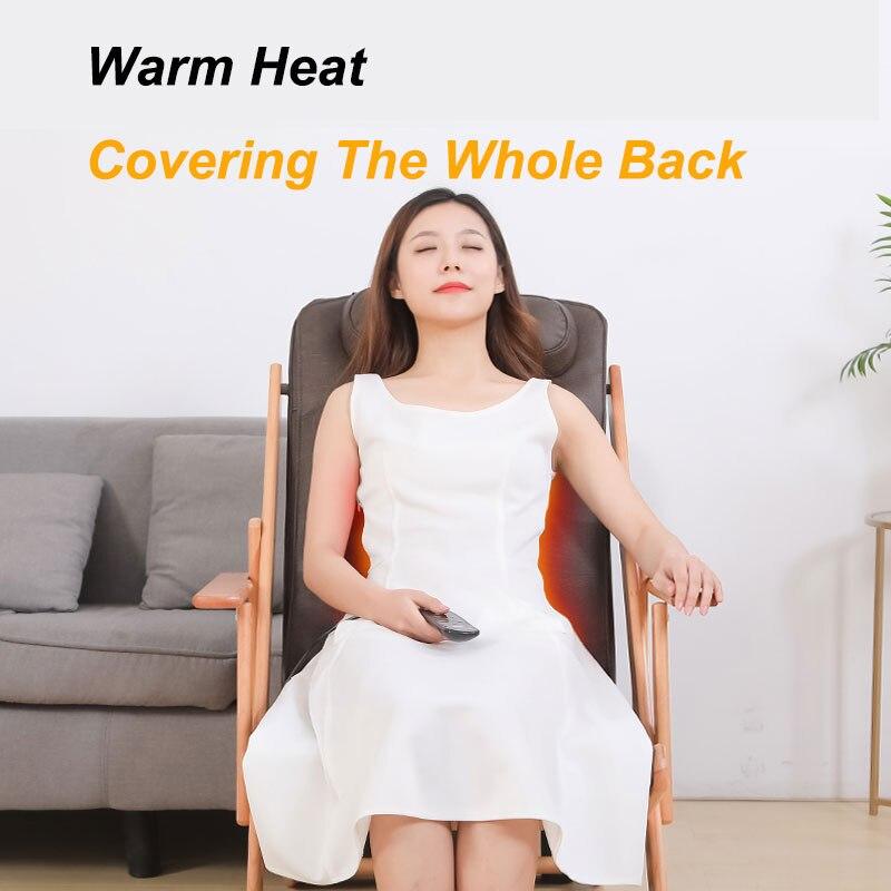 Folding Convenient Massage Chair Cervical Lumbar Shoulder Back Lumbar Massage Multi-Function Body Massage Chair