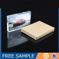 4x6 Wholesale Magnetic Acrylic Photo Frame, Acrylic Photo Picture Frame, Acrylic Photo Block Wholesale