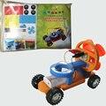 F1 Coche Eléctrico Modelo de Ensamblaje de EVA Materiales Ambientales Juguetes Educativos Regalo de Los Niños