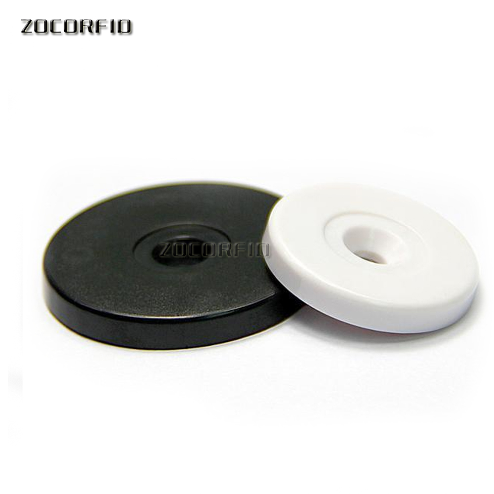 Newest 100 Pcs 125Khz Rfid EM4100 ID Round Coin Tags For Access Control Guard Tour Patrol System Checkpoint
