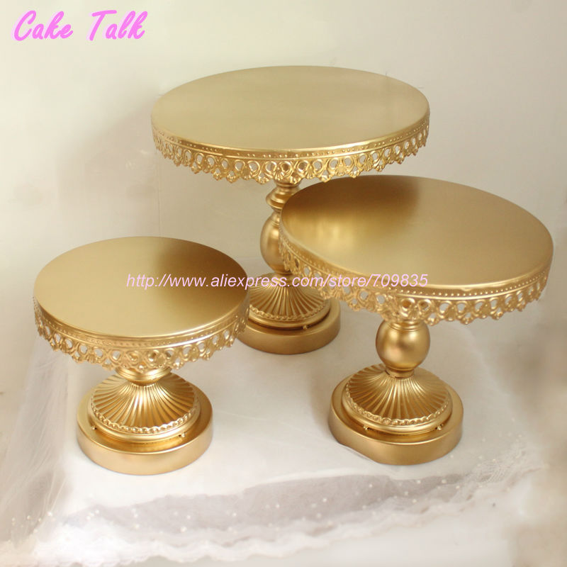 high quality metal iron gold cake stand 8 39 39 10 39 39 12 39 39 wedding cake decorating tools cupcake. Black Bedroom Furniture Sets. Home Design Ideas