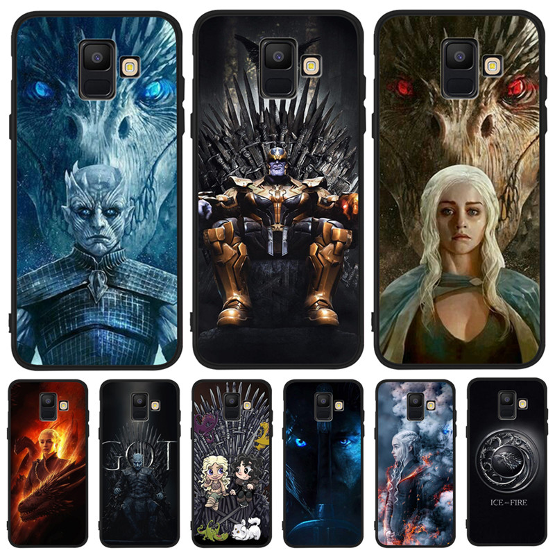 Game of Throne marvel DIY Luxury For Samsung Galaxy A9 A8 A7 A6 A5 A3 J3 J4 J5 J6 J8 Plus 2017 2018 phone Case Cover Coque Etui image