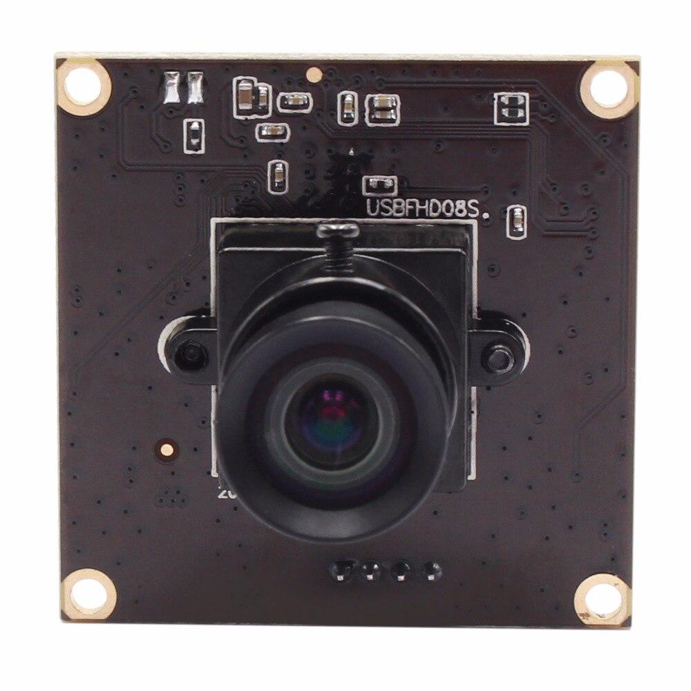 No distortion USB Camera MJPEG 260fps 640X360/120fps 720P/60fps 1080P CMOS OV4689 Mini Video Surveillance Camera module