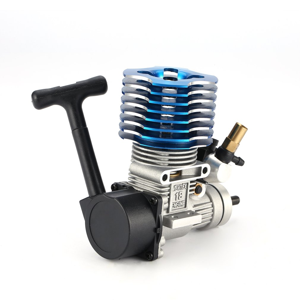 VX 18 2.74CC Metal Pull Starter Engine for RC 1/10 HSP HPI Redcat Nitro Racing Car Off-Road Buggy Bigfoot Truck On-Road wholesale 5 sets 1800mah rechargeable glow plug igniter charger rc 1 18 1 10 nitro buggy truck engine starter hsp 80101