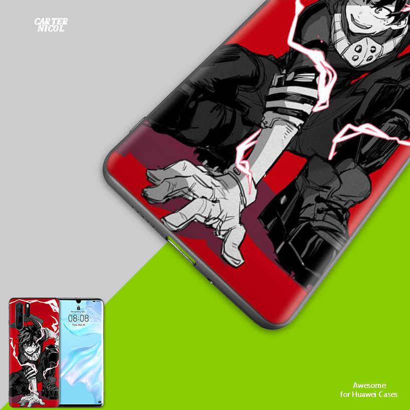 מנגה אנימה TPU סיליקון Case כיסוי עבור Huawei Mate 20 10 P30 P20 P10 לייט פרו P חכם בתוספת 2019 ליהנות 9S 9E נובה 4E Fundas קאפה