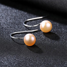 AAAA High Quality Pearl Earrings Luster Jewelry Classic 925 Sterling Silver For Women Party Wedding