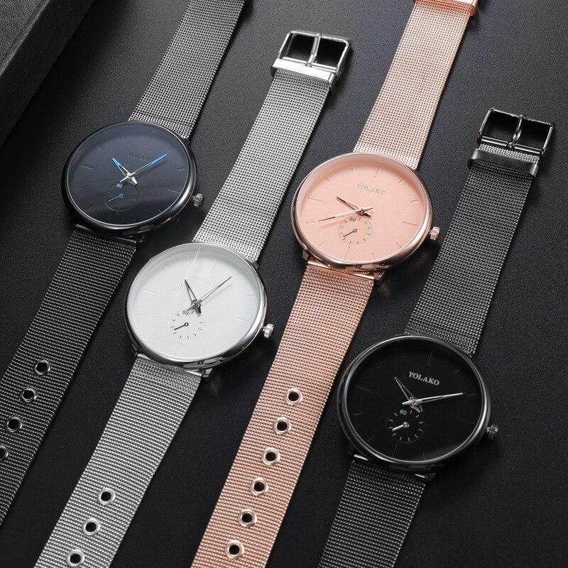 HTB15T4Sbbr1gK0jSZFDq6z9yVXaV DONROSIN Men Casual Slim Black Mesh Steel Wrist Sport Watch Fashion Mens Watches Top Brand Luxury Quartz Watch Relogio Masculino