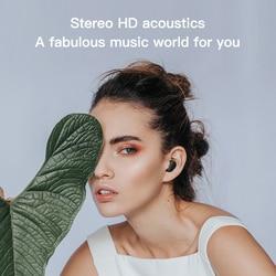 Haylou obustronne połączenia HD TWS bezprzewodowe słuchawki dla Huawei Xiaomi ios, BT5.0 doskonałą jakość dźwięku, bezprzewodowe słuchawki Bluetooth 6