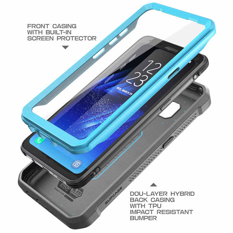 size 40 3a2a7 b2b4e SUPCASE For Samsung Galaxy S8 Active Case Unicorn Beetle UB Pro Full-Body  Rugged Holster Cover WITH Built-in Screen Protector