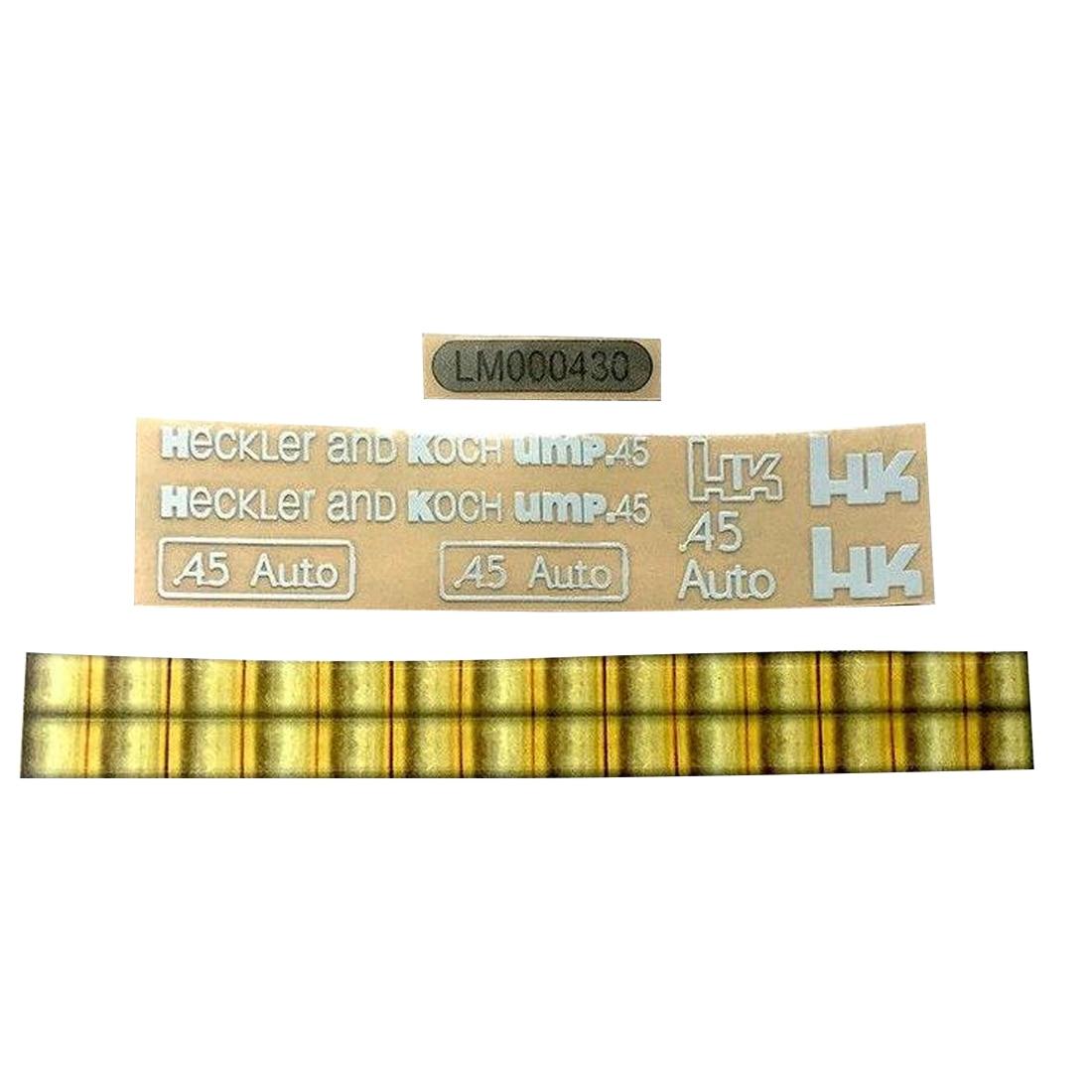 Surwish Metal Stickers For UMP45/HK Water Gel Beads