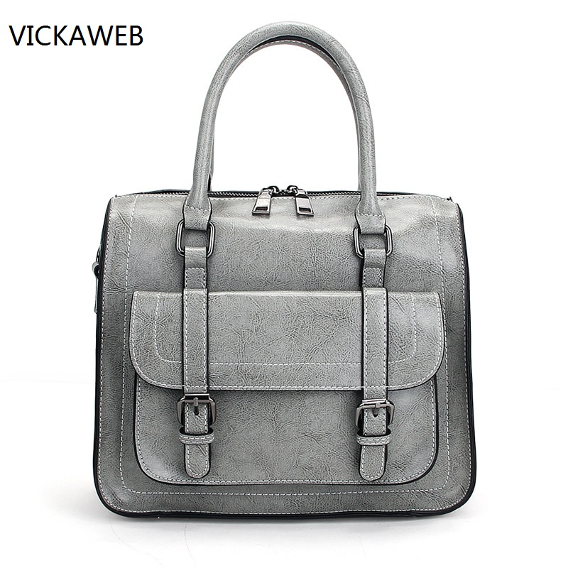 vintage women messenger bags genuine leather doctor bag luxury brand women leather handbags fashion ladies handbag